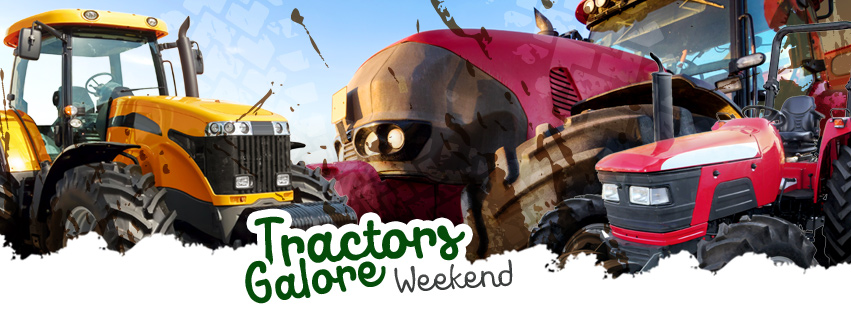 Tractors Galore Weekend, October 14 & 15