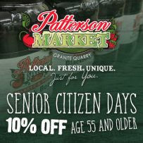 Senior Citizen Days at Granite Market