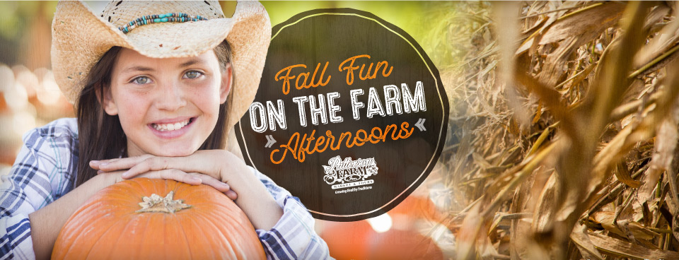 Fall Fun on the Farm Afternoons
